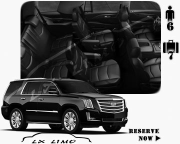 SUV Escalade for hire in Wichita, KS