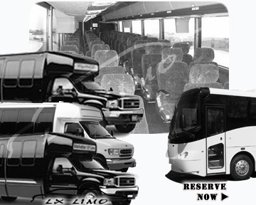Wichita Bus rental 36 passenger