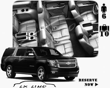 SUV Suburban for hire in Wichita