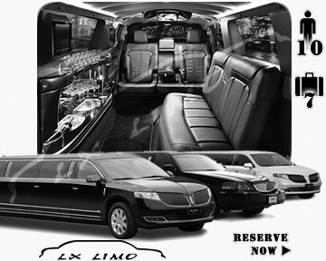 Wichita Town Car Stretch Limo for rental