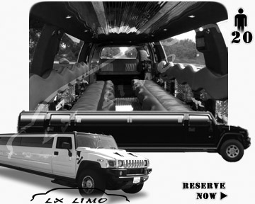 hummer H2 SUV Limo in Wichita, KS